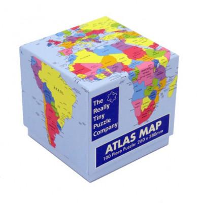 Puzzle Atlas   100 Teile