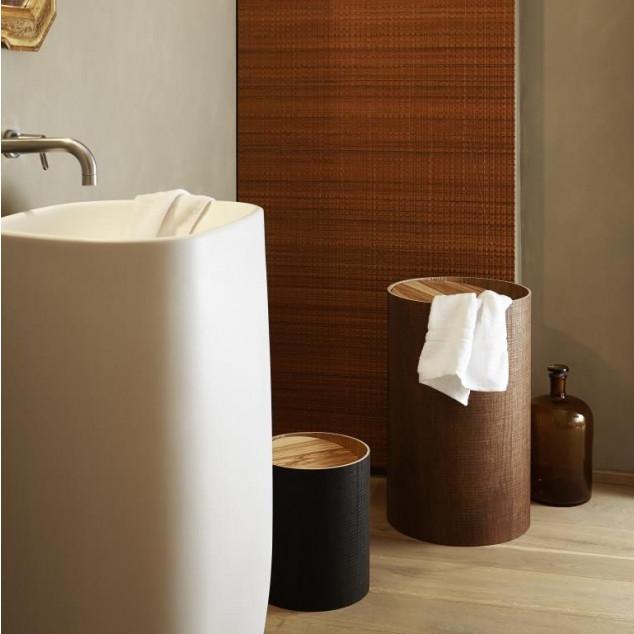 Arigatoe Riviera Laundry Holder | Cinnamon Brown