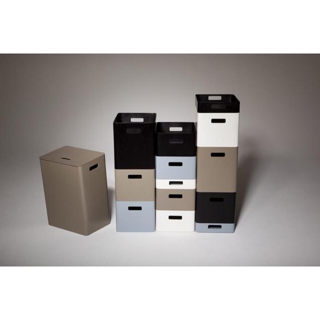 Wooden Laundry Holder   Graphite Black