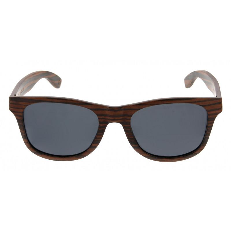 Unisex-Sonnenbrille Atoem   Ebenholz