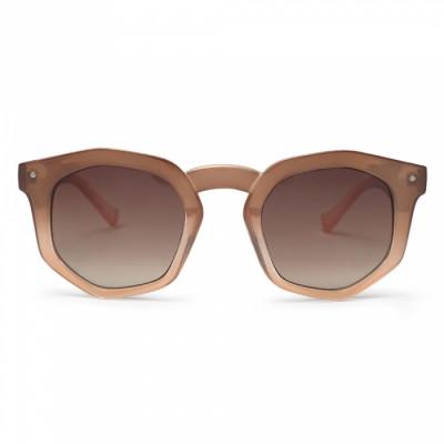 Sonnenbrille Audrey | Braun / Crème