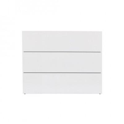 Kommode Aurora mit 3 Schubladen | Weiß