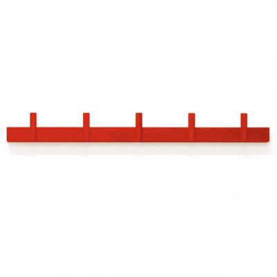 Garderobe Line Up | Groß 70 cm | Rot