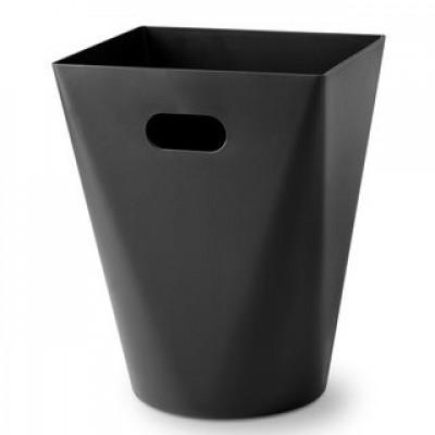 Wastepaper Bin Square 12 L | Black