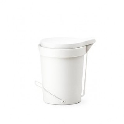 Pedal Bin Tip | White