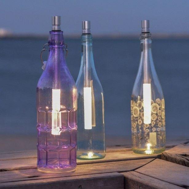 Flaschenlampe Bottlelight | 3er-Set-Warm White - Triple Pack BOT03-wT