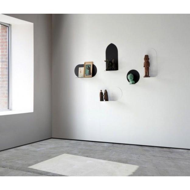 Shelf Aureole Round | White