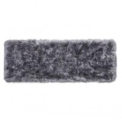 Schafsfell-Teppich lang   Grau