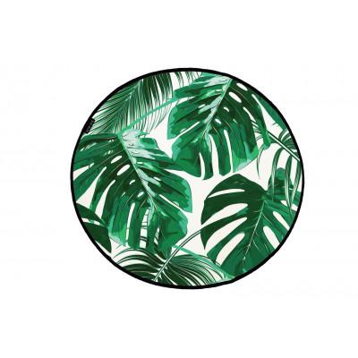 Canvas Rug Attractive Green