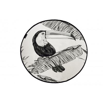Canvas Rug Toucan