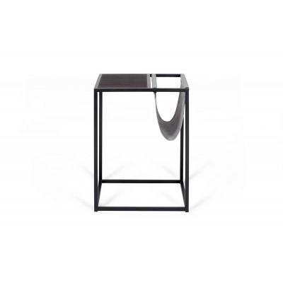 Beistelltisch für Zeitschriften Avei | Schwarz - Grau