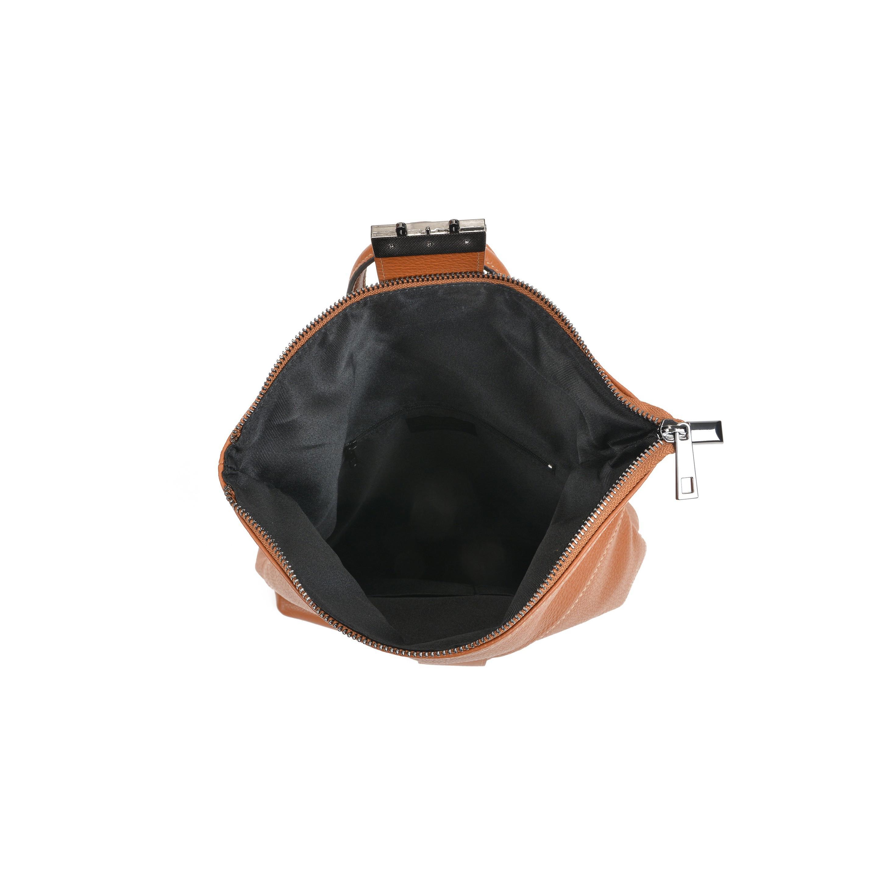 Leder-Rucksack Isabella Rhea | Cognac
