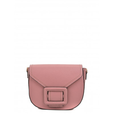 Schultertasche N°1532 | Rosa Scuro