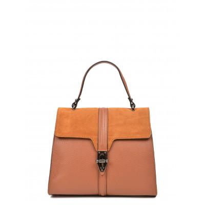 Handtasche N°1541 | Cognac