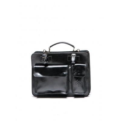 Tasche mit oberem Griff  °305 | Schwarz