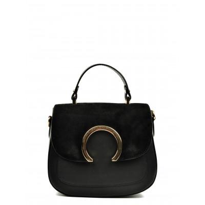 Handtasche N°3108 | Schwarz