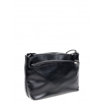 Lederhandtasche | Schwarz