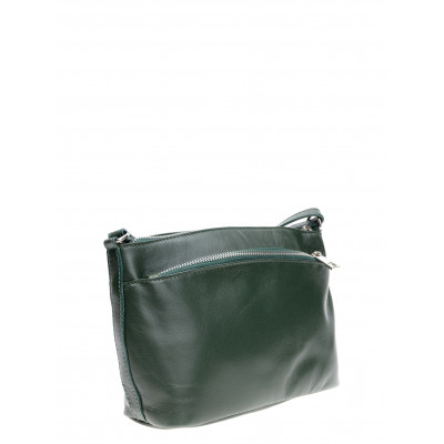 Lederhandtasche | Grün