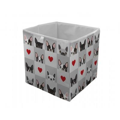 Storage Box Which Frenchie in Love