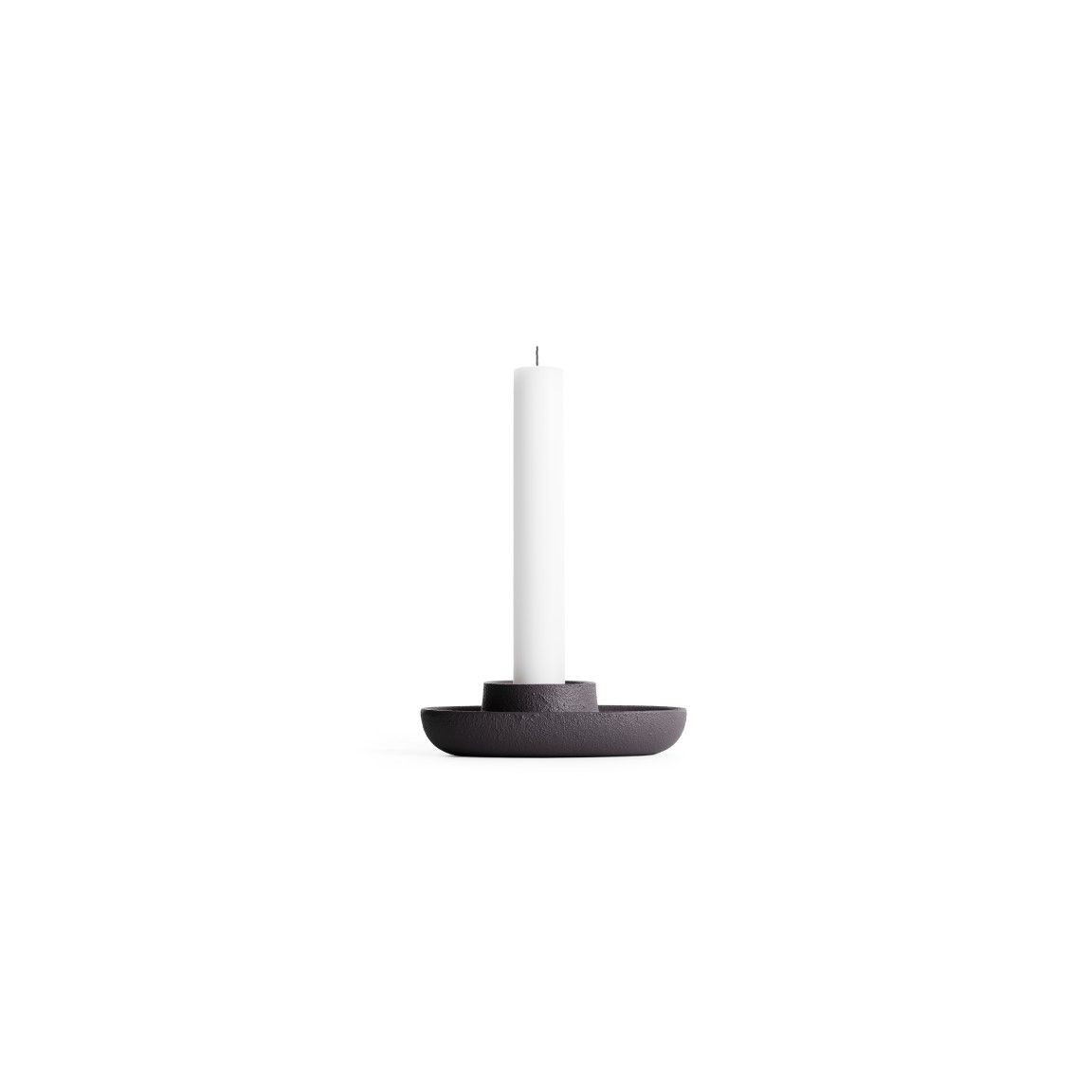 Kerzenhalter für 1 Kerze   Schwarz