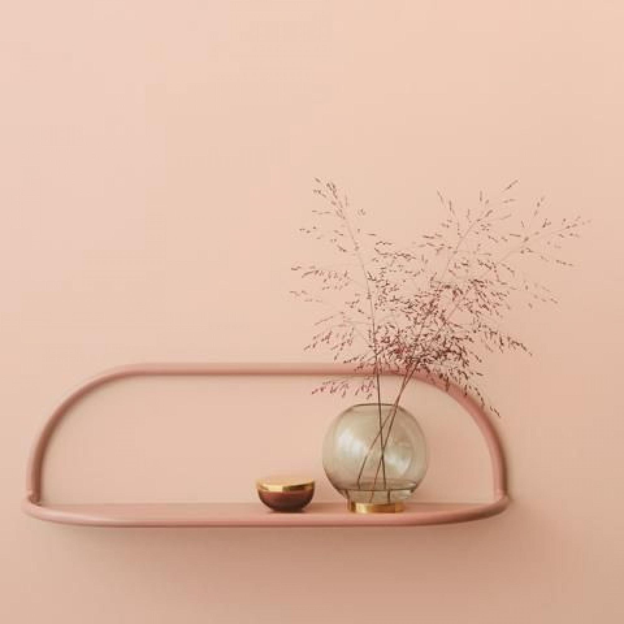 Shelf Angui L 78 cm | Pink