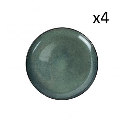 Teller Habuza Ø 27 cm 4er-Set | Blau
