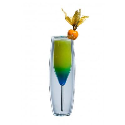 Glas blooProsecco