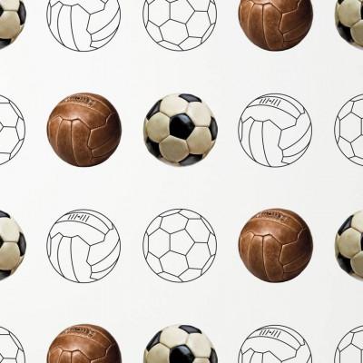 Wallpaper Football | White