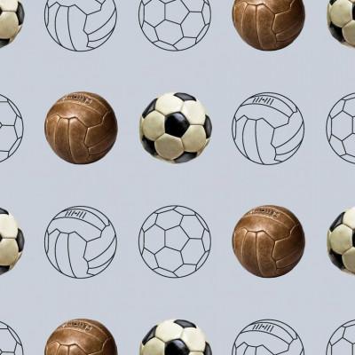 Wallpaper Football | Steel Blue