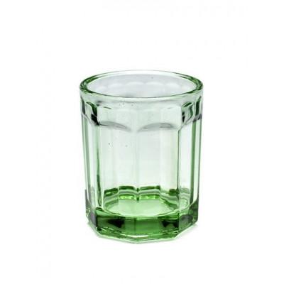 Drinking Glass D7,5 H9 Medium | Transparent Green