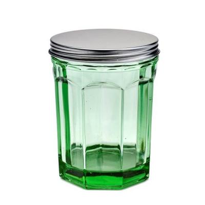 Tiegel mit Deckel Medium 100 cl | Transparentes Grün