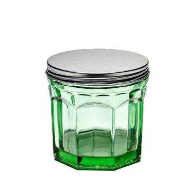 Topf mit Deckel klein 75 cl | Transparentes Grün