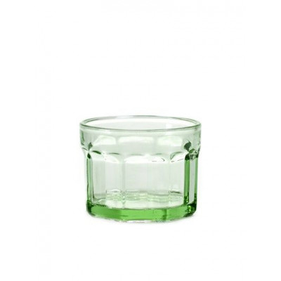Drinking Glass D8 H6 Small | Transparent Green