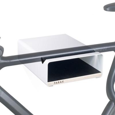 S-Rack Fahrrad-Wandhalterung M | Weiß - Schwarz