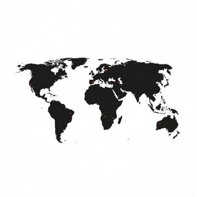 Wandaufkleber Welt