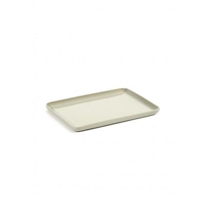 Rechteckiges Tablett Cose M | Beige