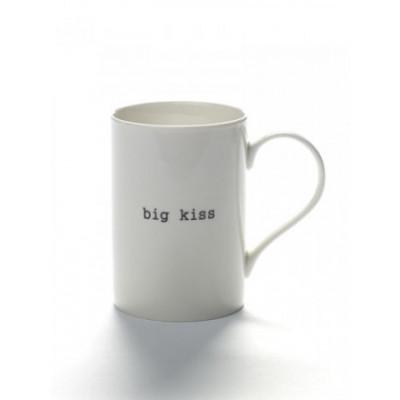 Mug Big Kiss | White
