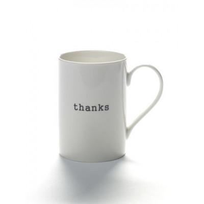 Becher Danke | Weiß