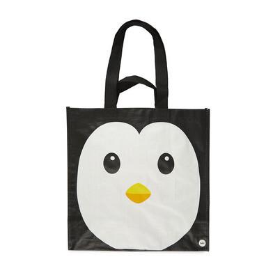 Einkaufstasche Pingu | Schwarz