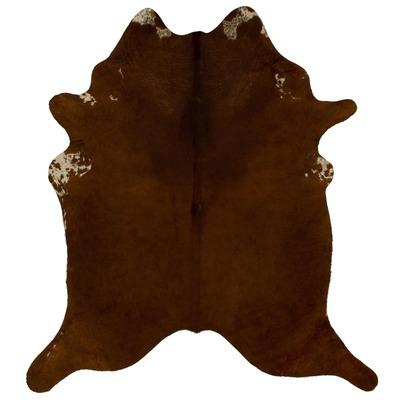Woooly® Einzigartig Kuhhaut    Braun, Dunkelbraun und Beige