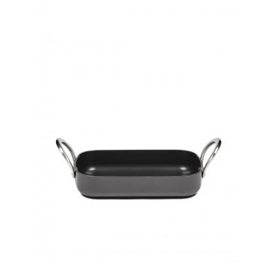 Pure Roaster Non-Stick Forged Alu L30 cm B20 cm | Ebony Black