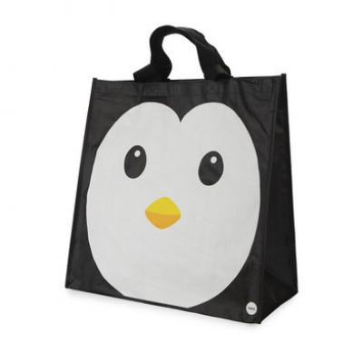Einkaufstasche Pingu   Schwarz