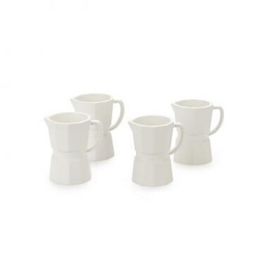 Espressotasse 4-er Set | Weiß