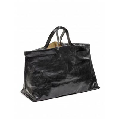 Shopper XL | Leder | Schwarz