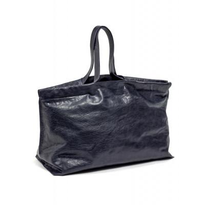 Shopper XL | Leder | Blau