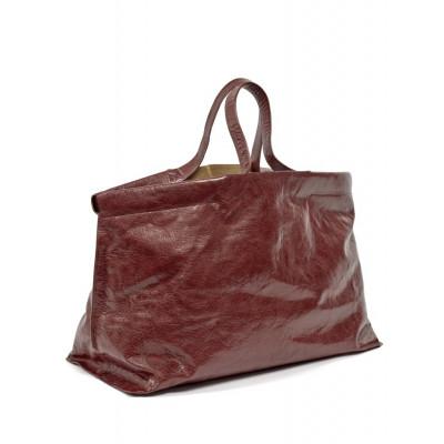Shopper XL | Leder | Rot