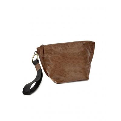 Clutch Bag | Leder | Cognac