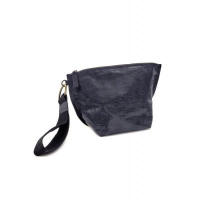 Clutch Bag | Leder | Blau