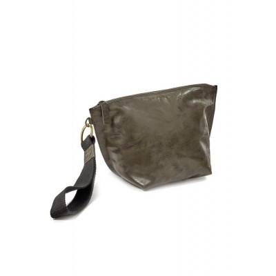 Clutch Bag | Leder | Grün