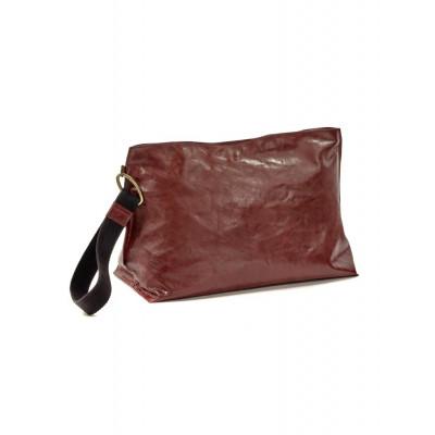 Clutch Bag XL | Leder | Rot